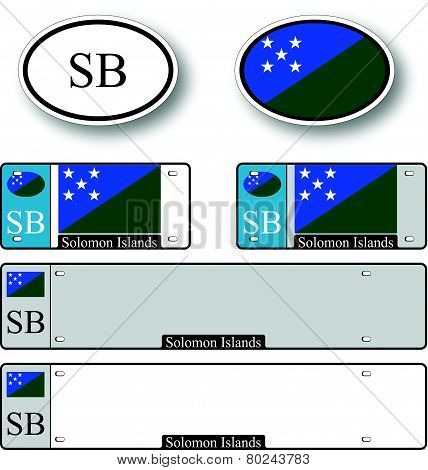 Solomon Islands Auto Set