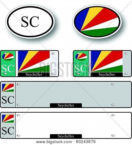 Seychelles Auto Set