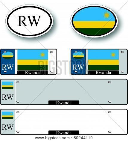 Rwanda Auto Set