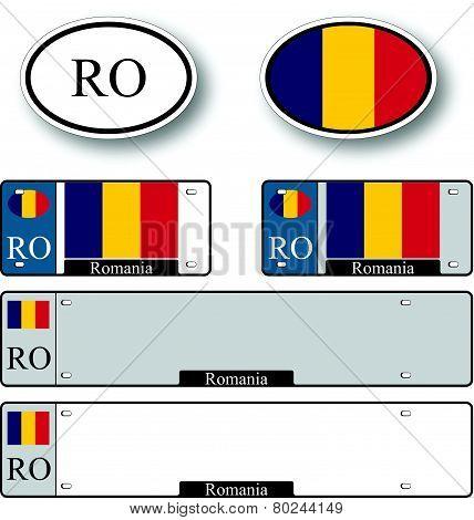 Romania Auto Set