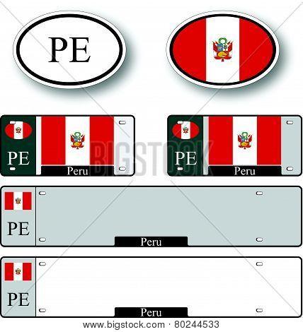 Peru Auto Set