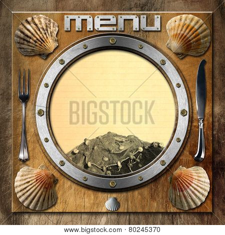 Seafood - Menu Template