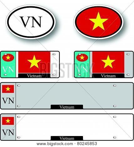 Vietnam Auto Set