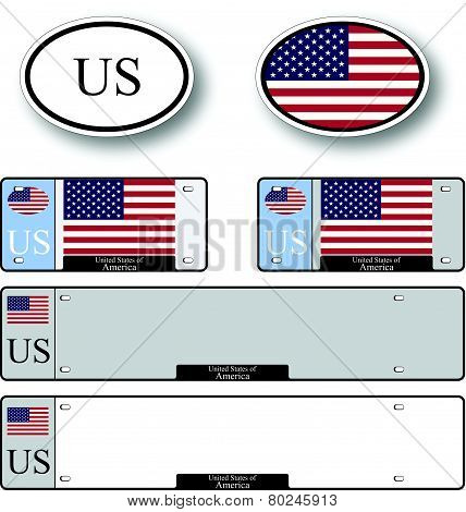 United States Of America Auto Set