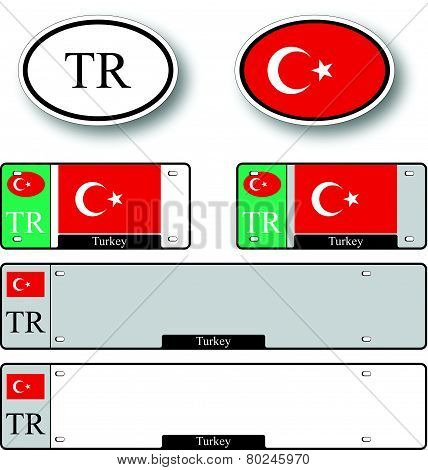 Turkish Republic Of Northern Cyprus Auto Set