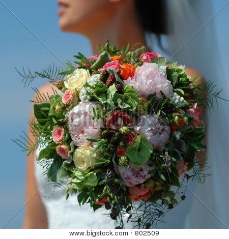 Boquet and bride