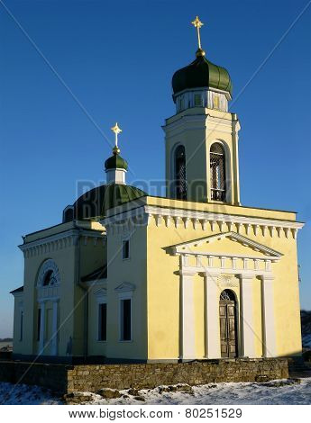 Church of Alexander Nevsky in Khotyn Fortress