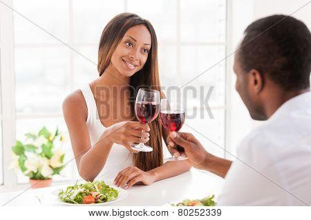 Good Wine For Special Date.