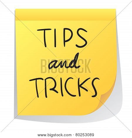 Tips Nd Tricks