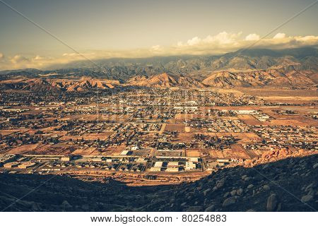 Banning California Panorama