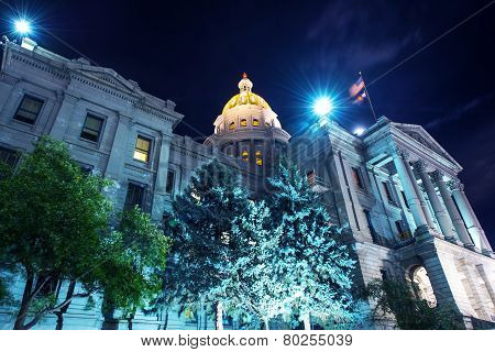 Capitol Building In Denver