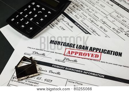 Mortgage Loan Application Approved 013