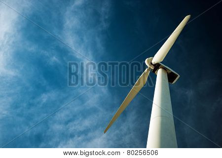 Lonely Wind Turbine