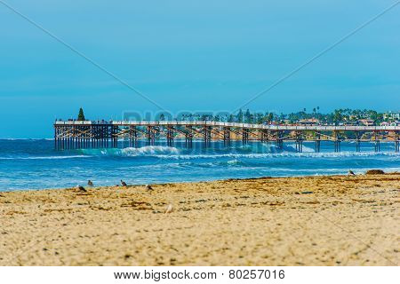 San Diego Beach And Pier