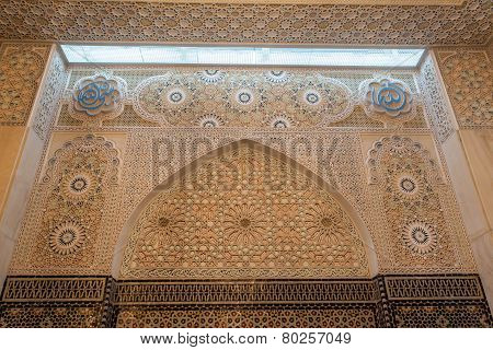 Interior Of Grand Mosque In Kuwait