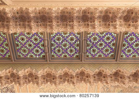 Oriental Decoration in Kuwait mosque