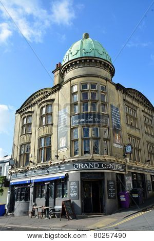 The Grand Central Theatre, Bar & Cabaret Building Brighton Uk