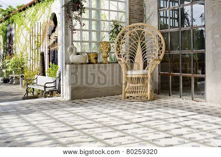 Luxury Rattan Chair Outdoor House