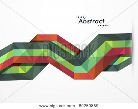 Creative colorful abstract layout on grey background for business purpose.