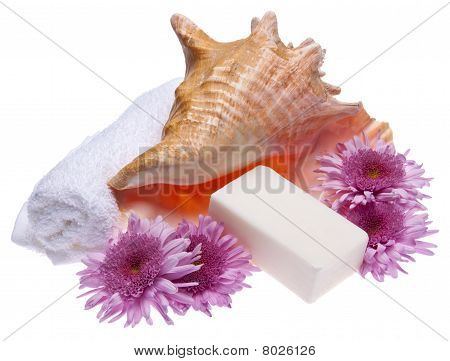 Flowers And Soap Spa Image