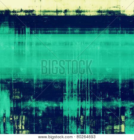 Grunge retro vintage texture, old background. With different color patterns: yellow (beige); green; blue; cyan