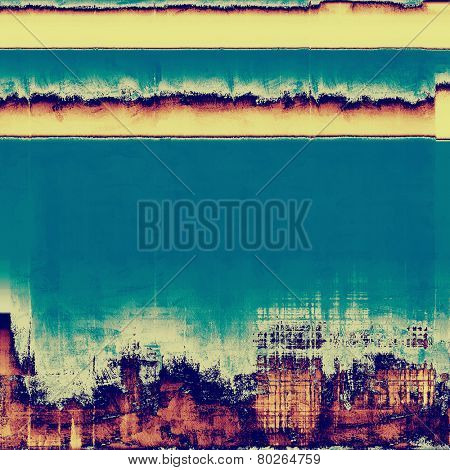 Vintage texture. With different color patterns: gray; purple (violet); yellow (beige); blue; cyan
