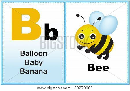 Alphabet Letter B
