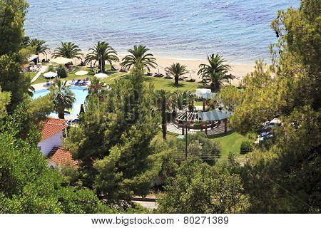 Beach in Athena Pallas Village