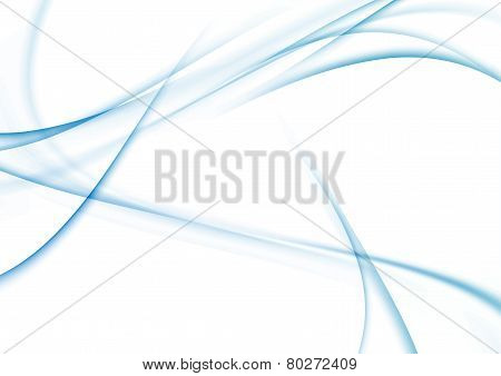 Modern Blue Lines Fusion Abstract Background