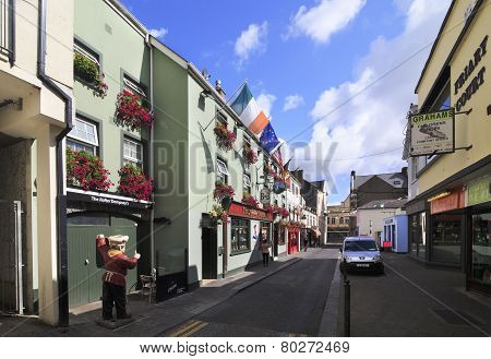Beautiful streets of Kilkenny.