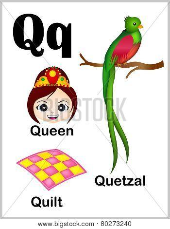 Alphabet Letter Q Pictures