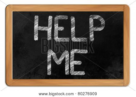 Help Me On A Blackboard