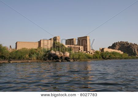 Temple of Philae from the sea