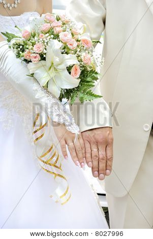 Hands of the marrying