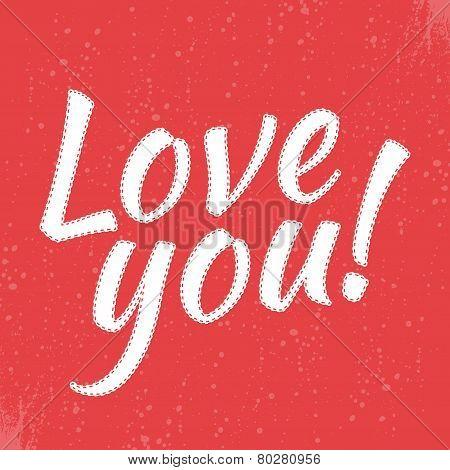 LOVE tee graphic