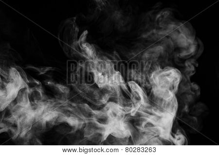Abstract smoke moves