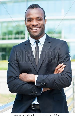 Confident And Successful Businessman.