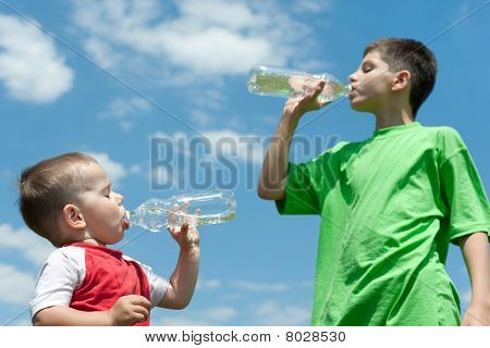 Drinking Water Brothers