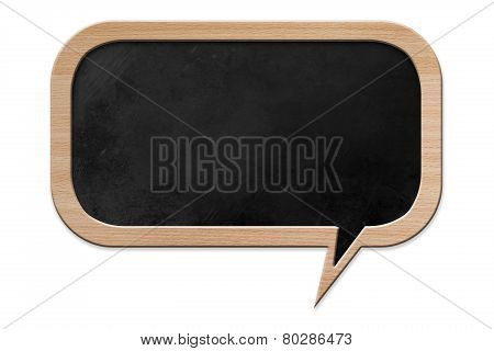 Speech Bubble Shaped Blackboard