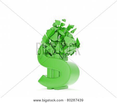 Crush Dollar Symbol