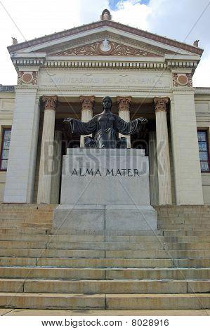 Alma Mater statue, Havana University
