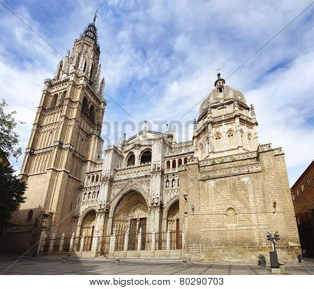 Cathedral Of Saint Mary Of Toledo.