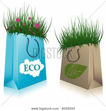 Eco Shopping bags.