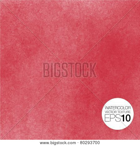 Watercolor vector texture background