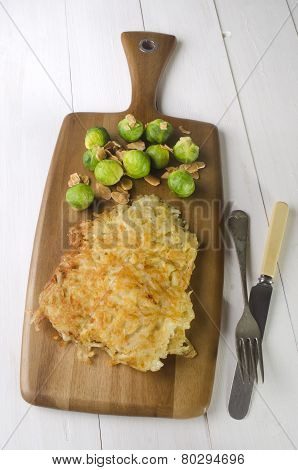 Oven Baked Potato Crusted Cod Fillet