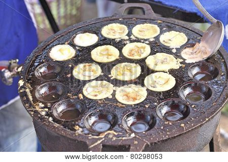 Takoyaki As Japanese Style Food.
