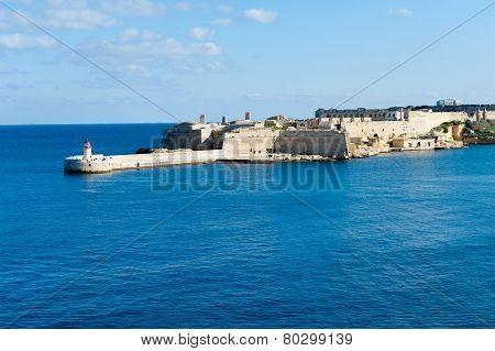 Ricasoli Grand Harbour East Breakwater