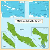 pic of curacao  - Map of the Aruba - JPG