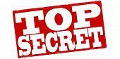 pic of top-secret  - Stamp with text top secret inside vector illustration - JPG
