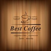 foto of latte coffee  - Best coffee background with coffee cup - JPG